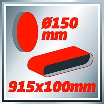 Einhell TC US 400 Stand Bandschleifer Tellerschleifer